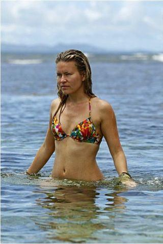actress Abi-Maria Gomes 24 years Without clothing foto beach