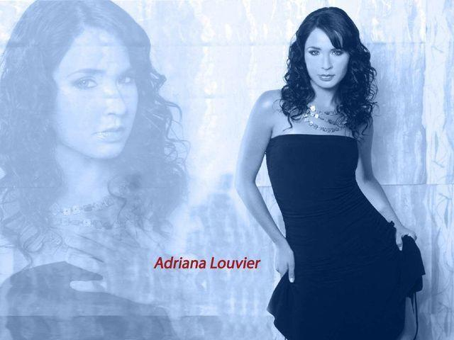 models Adriana Louvier 18 years fleshly photos in the club