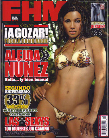 celebritie Aleida Núñez 19 years nude art photo home