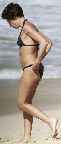models Alessandra Sublet 22 years Without slip foto in public
