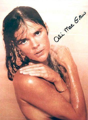 Ali MacGraw topless picture