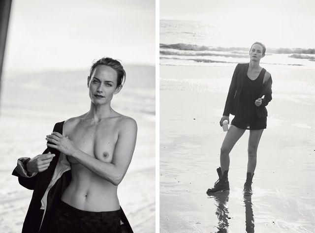 Amber Valletta nude photography