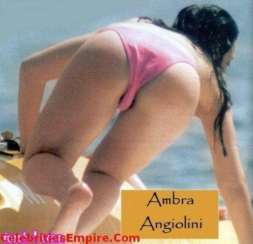 actress Ambra Angiolini 25 years sensual pics in public