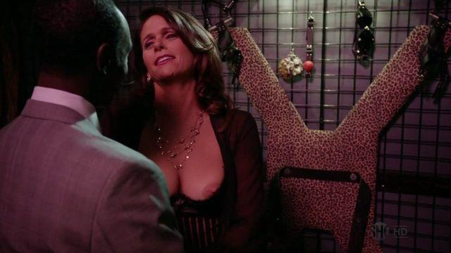 actress Amy Landecker 24 years concupiscent pics in public