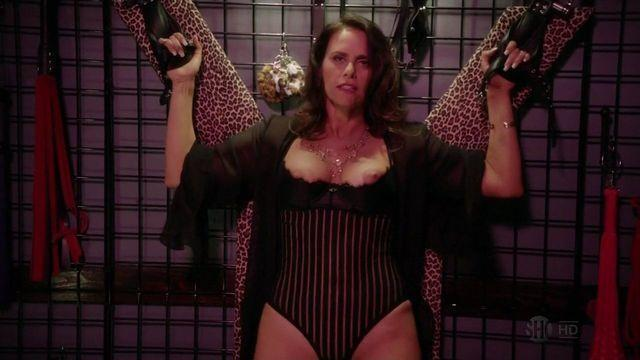 actress Amy Landecker 20 years provocative photoshoot in public