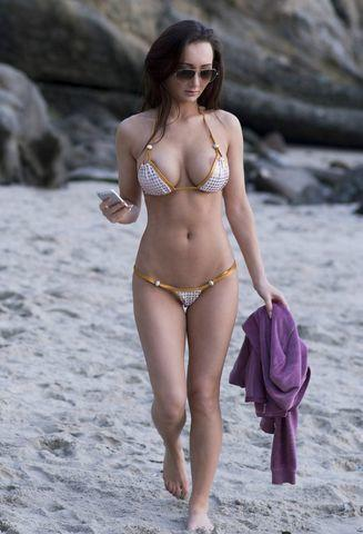 models Amy Markham 19 years bare photos in public