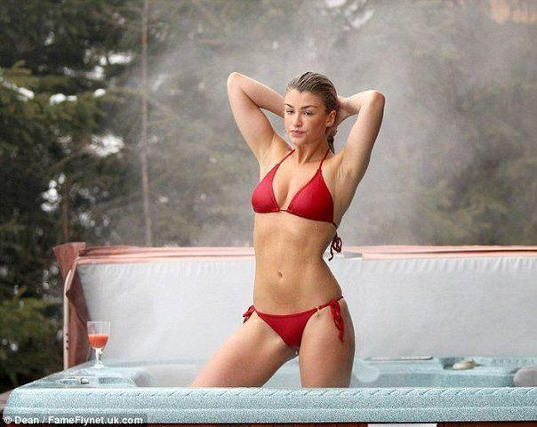 actress Amy Willerton 25 years indelicate snapshot home