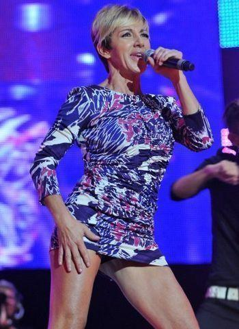 celebritie Ana Torroja 24 years disclosed art in the club