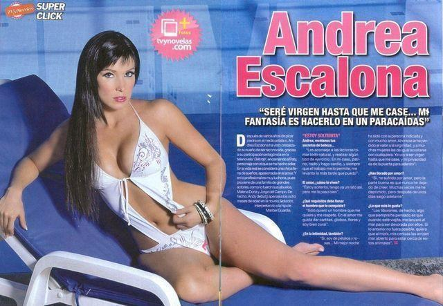 Andrea Escalona topless photoshoot