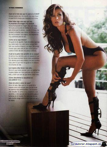 celebritie Anette Michel 20 years flirtatious photoshoot beach