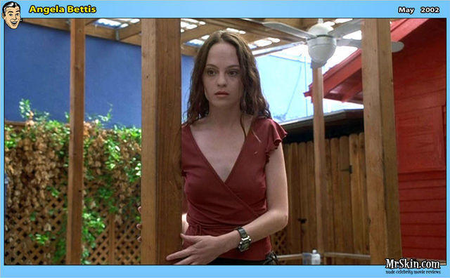actress Angela Bettis teen raunchy art in public
