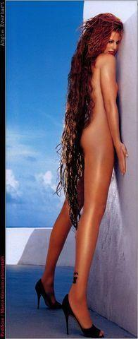 actress Angie Everhart 23 years amatory foto home