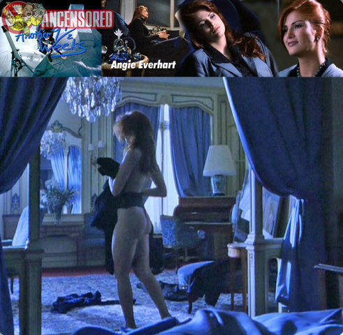 Naked Angie Everhart photo