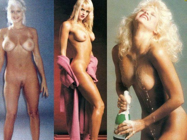 celebritie Anna Nicole Smith 25 years k-naked photos in the club