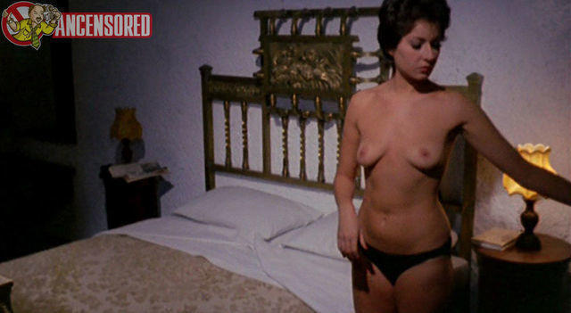 Annie Carol Edel topless photoshoot