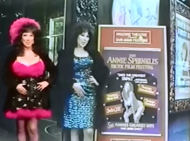 Hot photos Annie Sprinkle tits