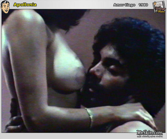 actress Apollonia Kotero 24 years lewd photo home