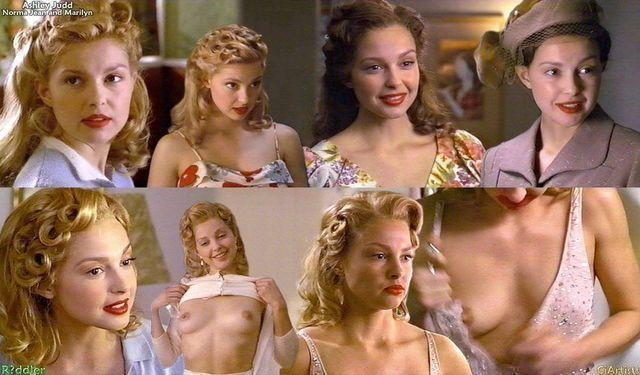 celebritie Ashley Judd 20 years nude young foto photography home