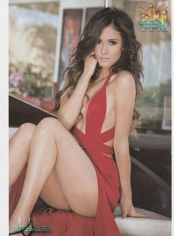 actress Bárbara Islas 18 years bareness photo in public