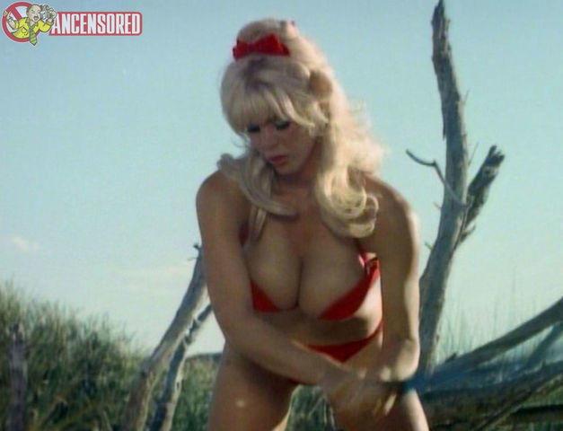 actress Babette Bardot teen private picture beach