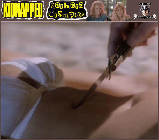 celebritie Barbara Crampton 24 years raunchy photo beach