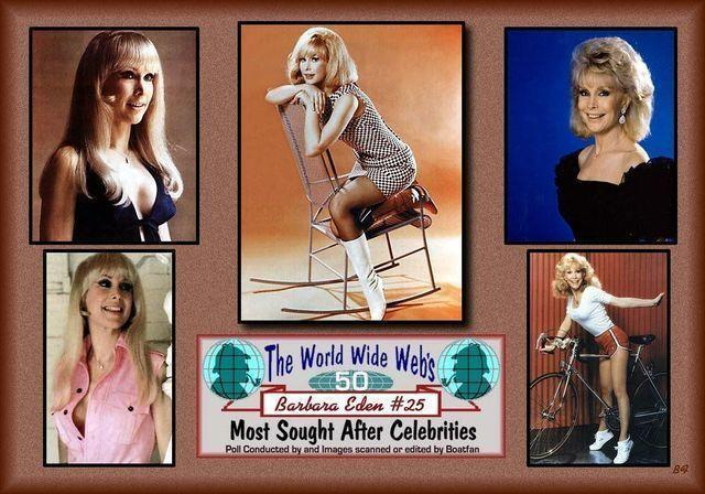 celebritie Barbara Eden 20 years bared picture home