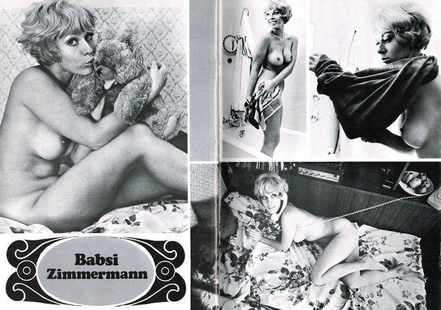 Hot image Barbara Zimmermann tits