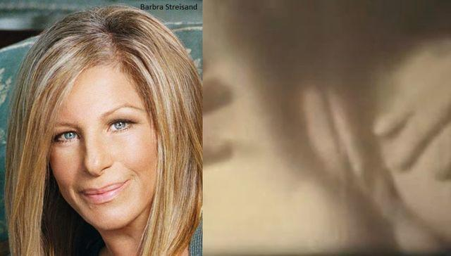 celebritie Barbra Streisand 21 years unmasked photos beach
