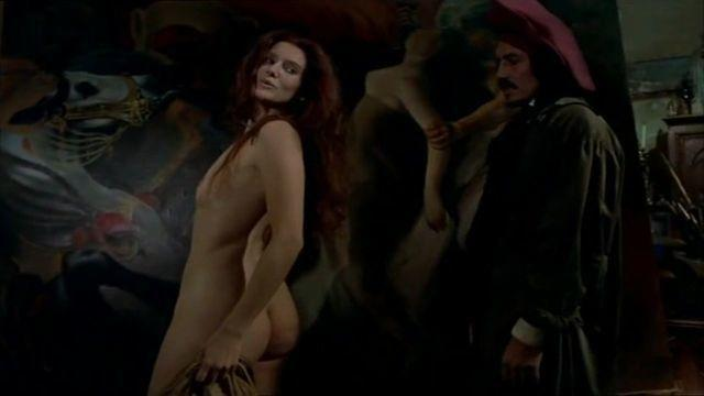 Beatrice Buchholz topless art