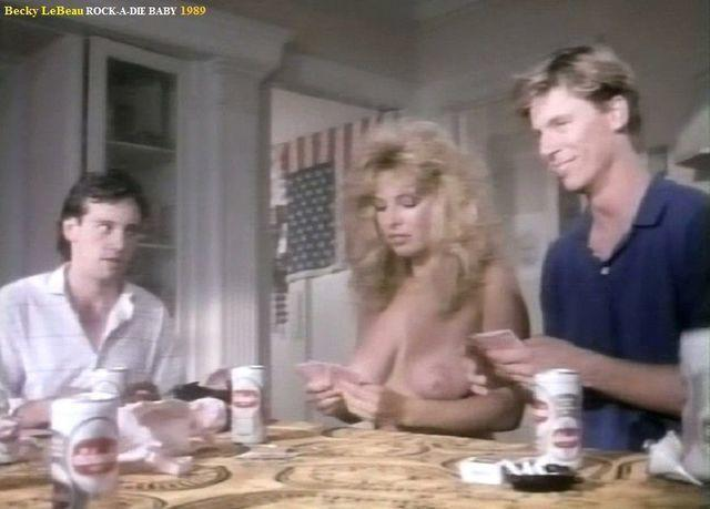 actress Becky LeBeau 24 years unclothed snapshot in the club