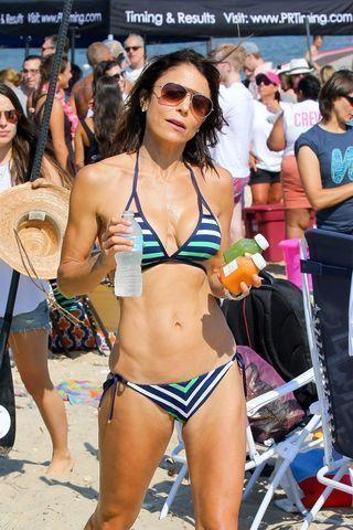 celebritie Bethenny Frankel 2015 leafless photography home
