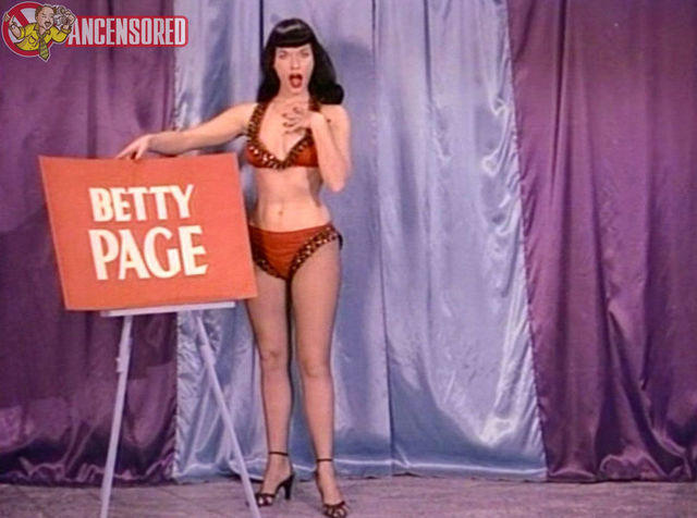 celebritie Bettie Page 24 years flirtatious photos in the club