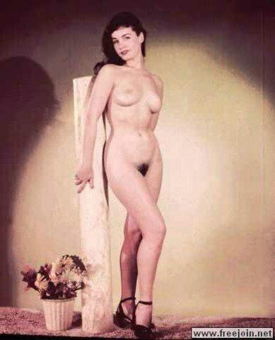 celebritie Bettie Page young raunchy photography home