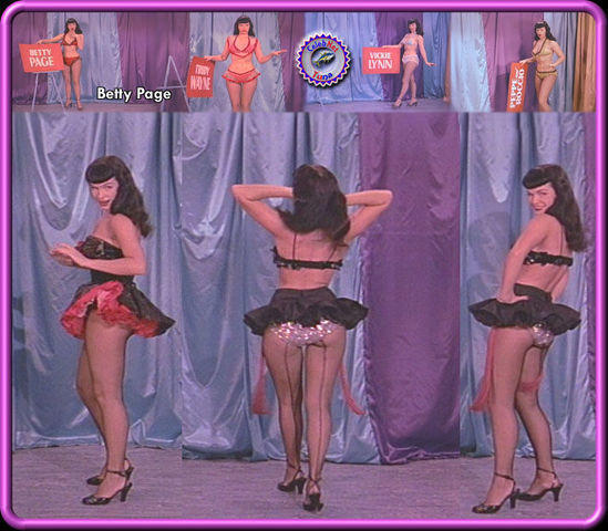 Hot foto Bettie Page tits