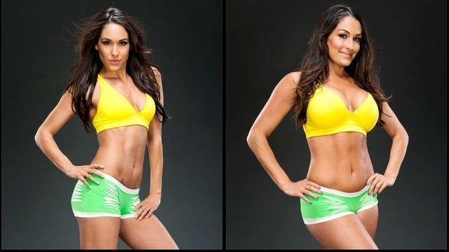 models Brie Bella 21 years Without swimsuit picture beach