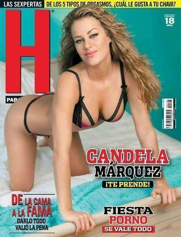 models Candela Márquez 18 years hot image in public