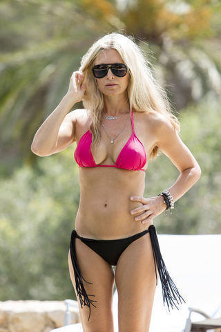 Caprice Bourret topless photo