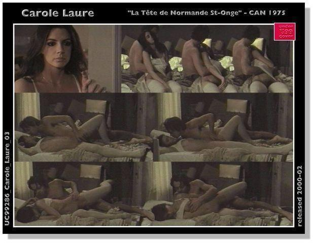 models Carole Laure 20 years obscene photo in public