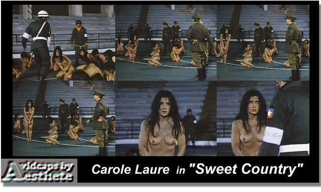 actress Carole Laure young stolen art in the club