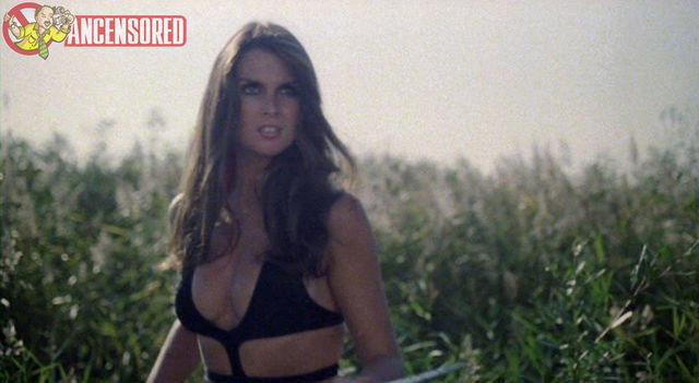 celebritie Caroline Munro 20 years titties snapshot in public