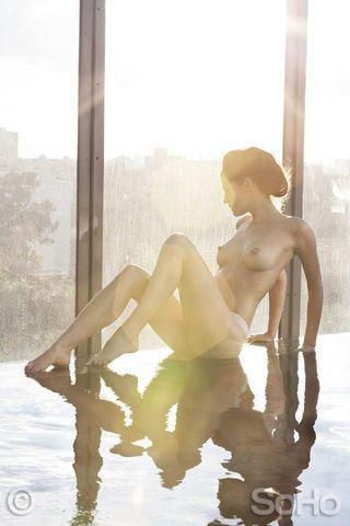 Catalina Londoño topless photoshoot