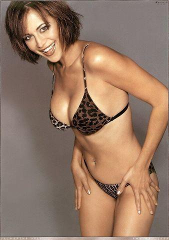 models Catherine Bell 23 years disclosed photo beach
