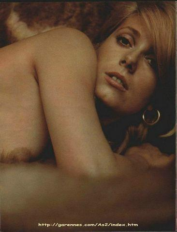 models Catherine Deneuve 22 years hot photo in public