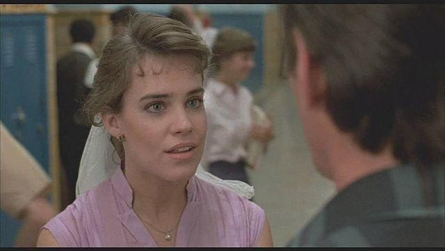 models Catherine Mary Stewart 22 years Without brassiere foto in the club