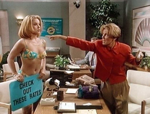 celebritie Christina Applegate 18 years Without slip snapshot home