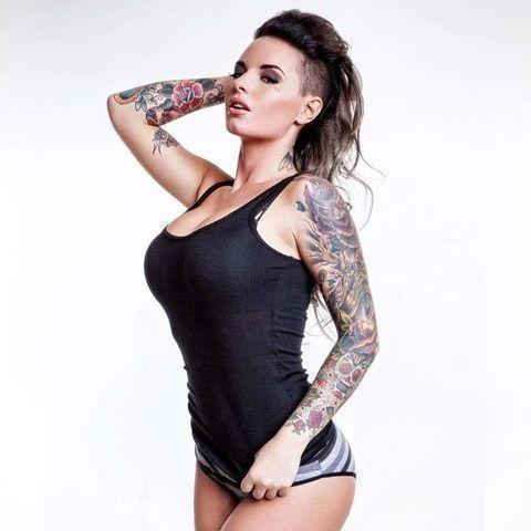 models Christy Mack 21 years stripped photography in public