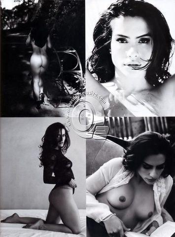 actress Cléo Pires 19 years bareness art in public