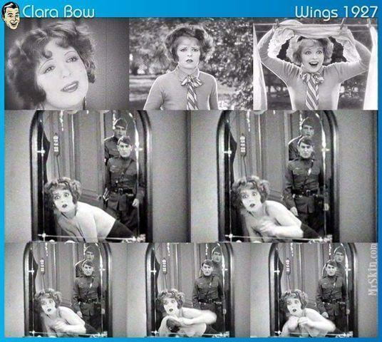 actress Clara Bow 18 years flirtatious snapshot in public