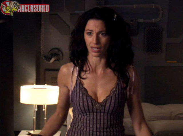 Claudia Black topless photoshoot