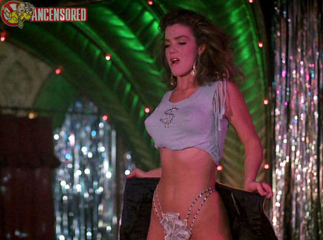 Hot art Claudia Christian tits